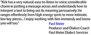 Paul Meier Dialect Services - www.paulmeier.com